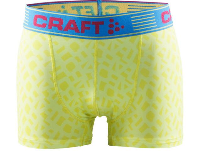 """Craft Greatness Ondergoed onderlijf Heren 3"""" geel"""